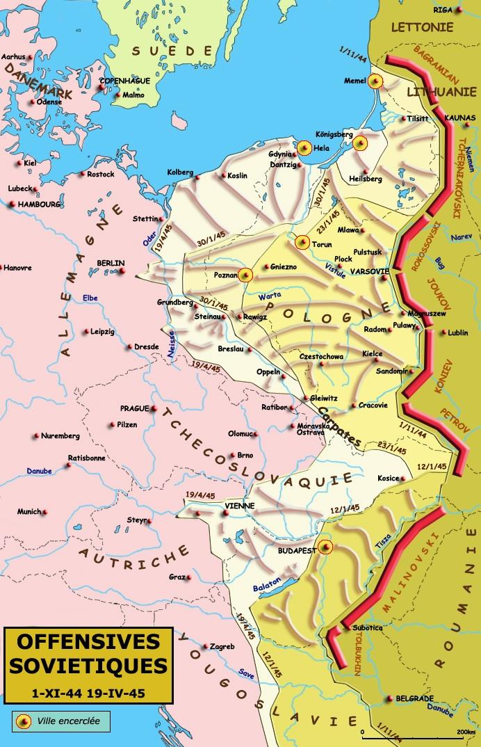 pologne passage de l'oder offensive-sovietique-1945