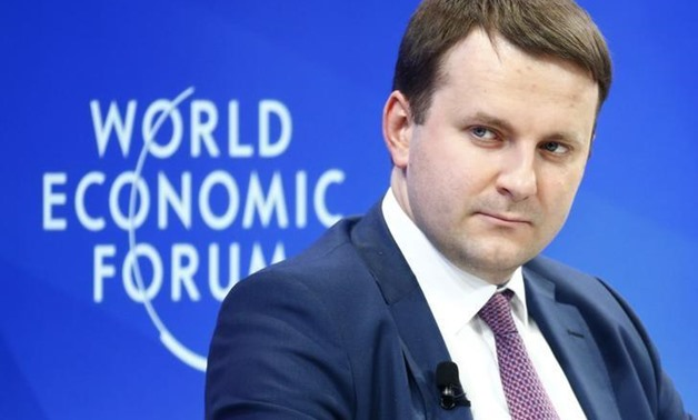 russie Maxim Oreshkin, Minister of Economic Development of Russia attends the World Economic Forum (WEF 53697