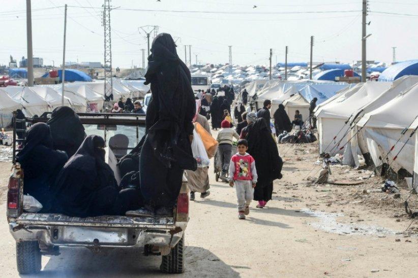 SYRIE le camp de déplacés internes d'al-Hol situé dans la province de Hassaké, 661_afp-news_6b4_ec7_00c05748995dd2c282558221fa_000_1F68R8-highDef