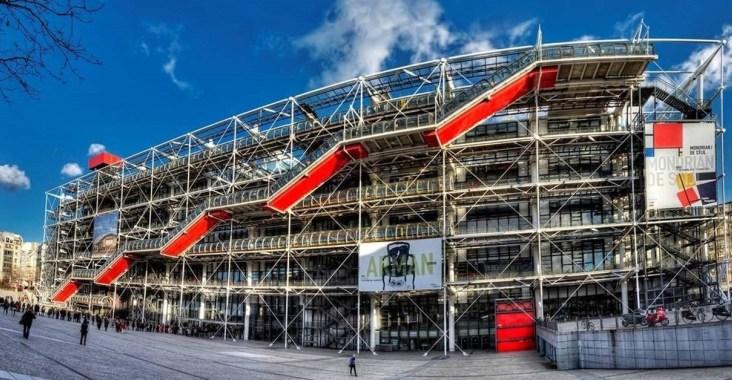 ffrance musée beaubourg centre pompidou 1.-Pompidou
