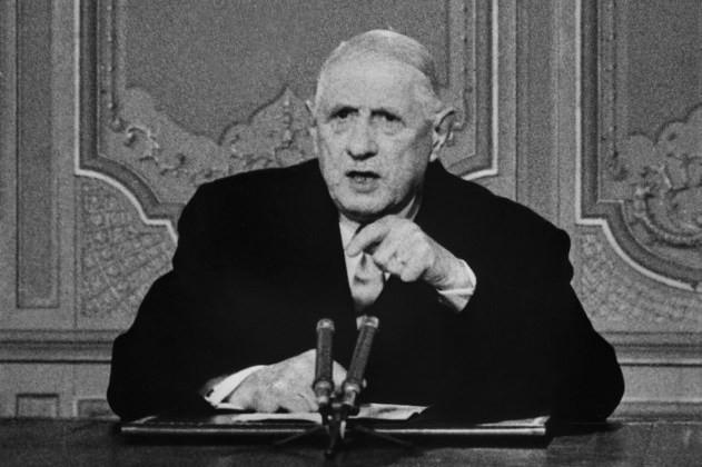FRANCE DE GAULLE president-francais-Charles-Gaulle-adresse-paysd-allocution-radio-televisee-Paris-24-1968la-premiere-foisle-debut-evenements-1968-AFP-PHOTO_0_631_420