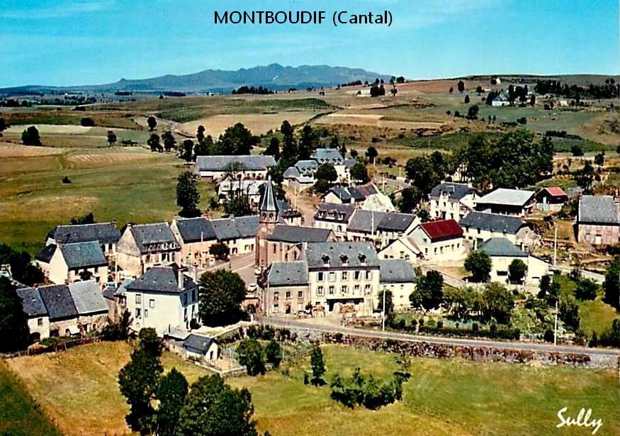 FRANCE montboudif-vue-aerienne-