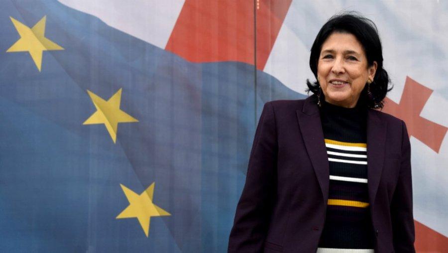 GEORGIE georgia_1 la présidente Zourabichvili