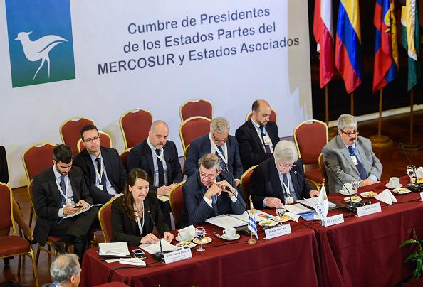 Key Speakers At The Mercosur Summit