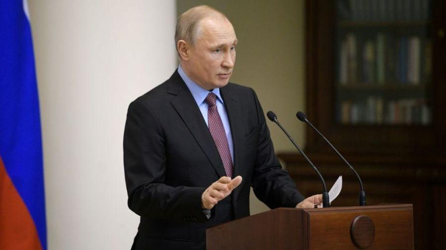 RUSSIE Le président russe Vladimir Poutine, le 24 avril 2019 à Saint-Pétersbourg - © Alexei Druzhinin 57d4b50258697fbdbbd7ac9d116a8e6c84a7f41a