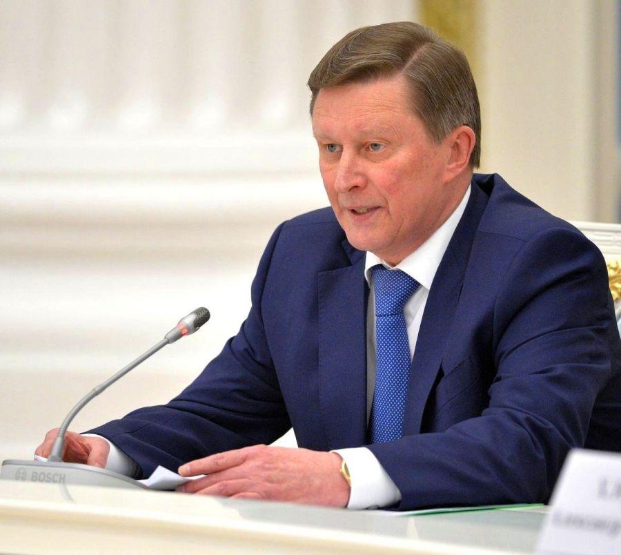 russie Sergei_Ivanov 2016