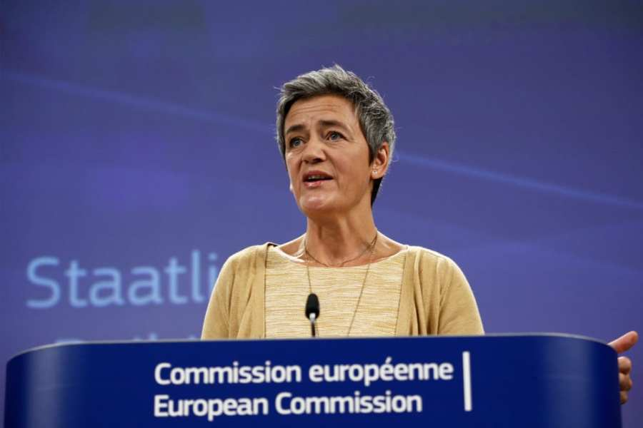 UE Margrethe-Vestager-Antitrust-EU-Regulation
