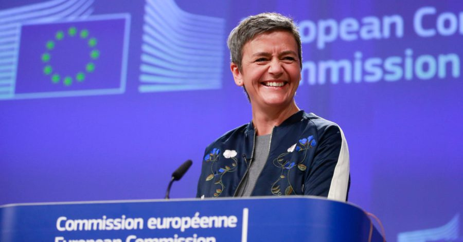 Gazprom EU Commissioner for Competition, Danish, Margrethe Vestager