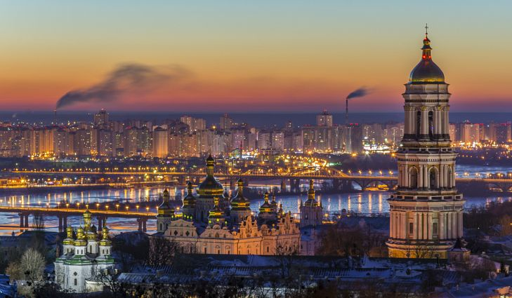 UKRAINE Kiev, the capital of Ukraine shutterstock-594440360