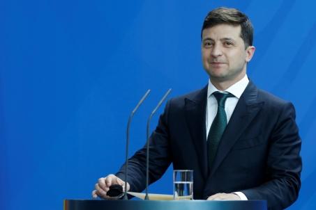 ukraine Volodymyr Zelensky zelenszkij-1024x683