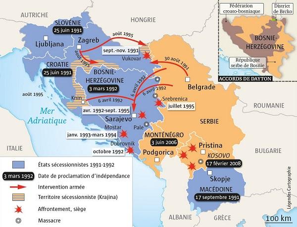 yougoslavie Dix ans de guerre - Yougoslavie 600