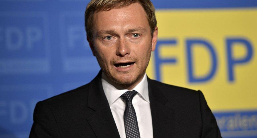ALLEMAGNE le Président du FDP, Christian Lindner 1056251930