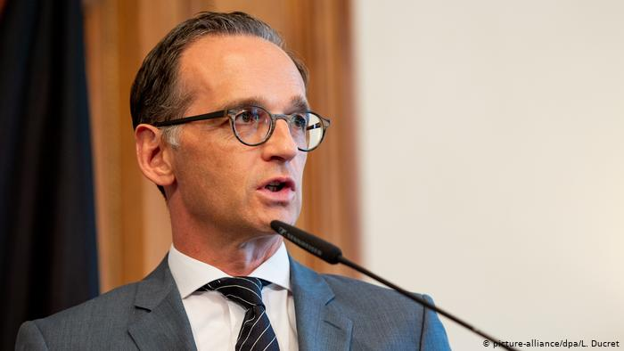 ALLEMAGNE Maas said Germany would make a substantial contribution 49576264_401