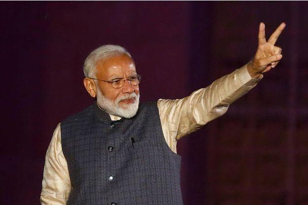 Apres-son-triomphe-le-Premier-ministre-indien-Narendra-Modi-prepare-son-deuxieme-mandat