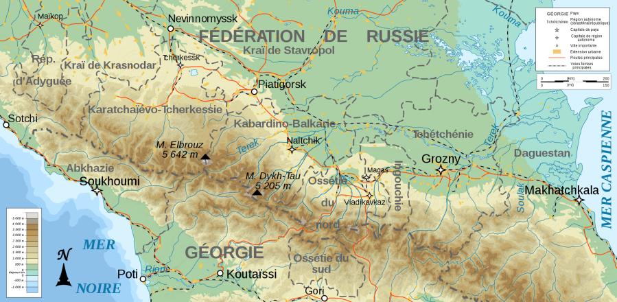 Caucase-nord-Ciscaucasie