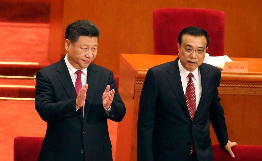 China-Politics-NH Le Premier Ministre Li Keqiang & XI JINPING