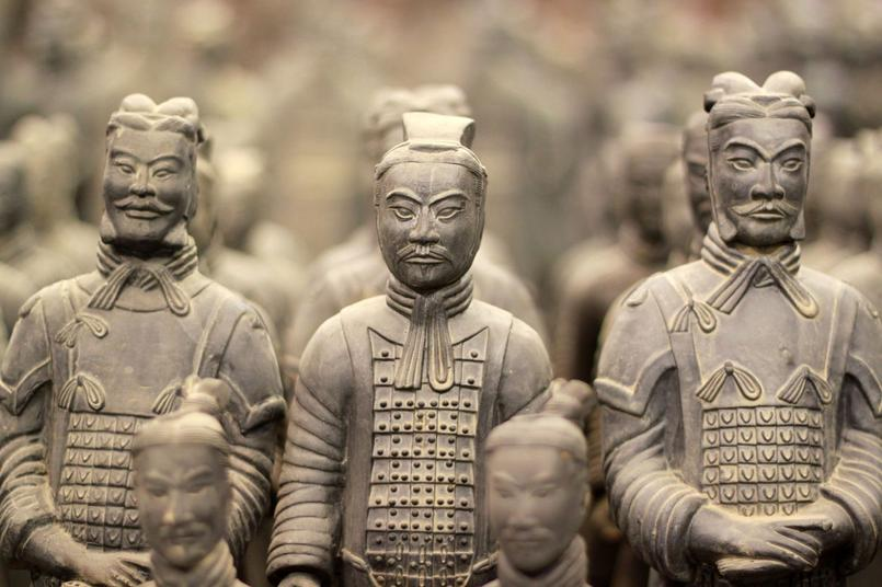 CN Chine Xi'an Bingmayong armée en terre cuite