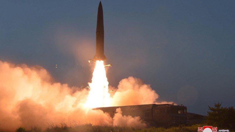 Corée du Nord a lancé ce matin deux missiles balistique386765034_highres