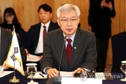 coree du sud Le vice-ministre sud-coréen des Affaires étrangères, Lee Tae-ho. 1442394791