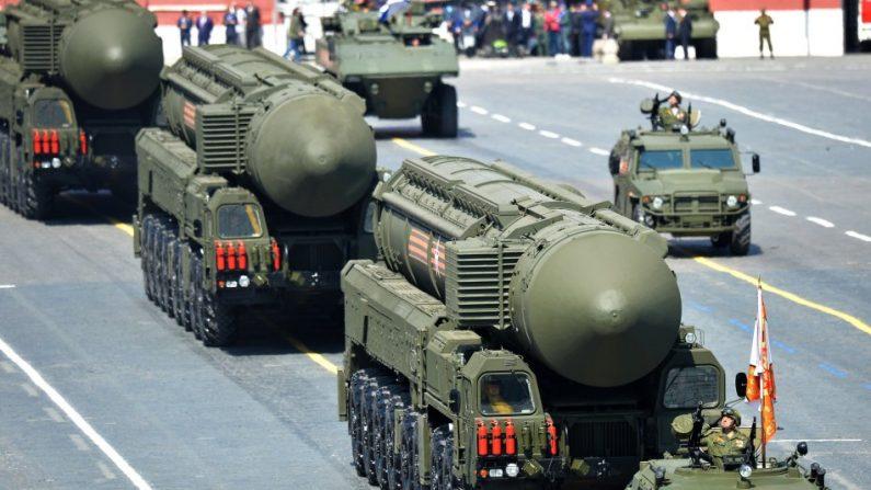 FNI Le traité FNI a été signé par les États-Unis et l'Union soviétique en 1987, à la fin de la guerre froide. (Image nationalinterest.org)