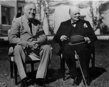 HONGRIE HISTOIRE RooseveltChurchill