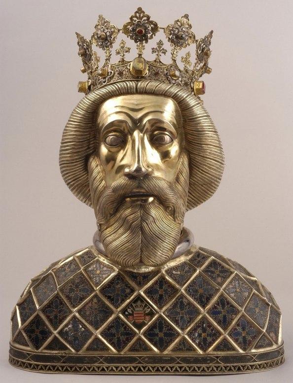 HONGRIE saint Ladislas de Hongrie szent-laszlo-hermaja