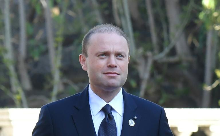 ILE DE MALTE le premier ministre maltais Joseph Muscat cbb39948a937d9b6bc03f8616861b046489f278a