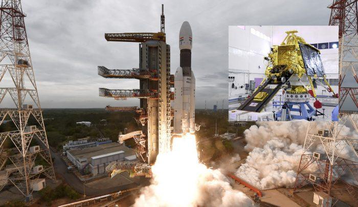 Inde de sa sonde lunaire Chandrayaan-2.chandrayaan2-titre.001-700x405