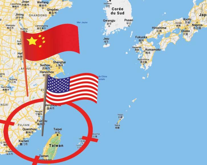 le détroit de Taiwan 34333326-31406086