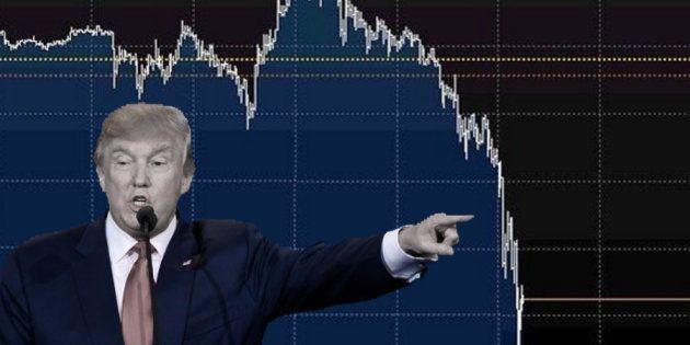 les marchés boursiers ont décroché. 5c930c4c240000b000c7384f