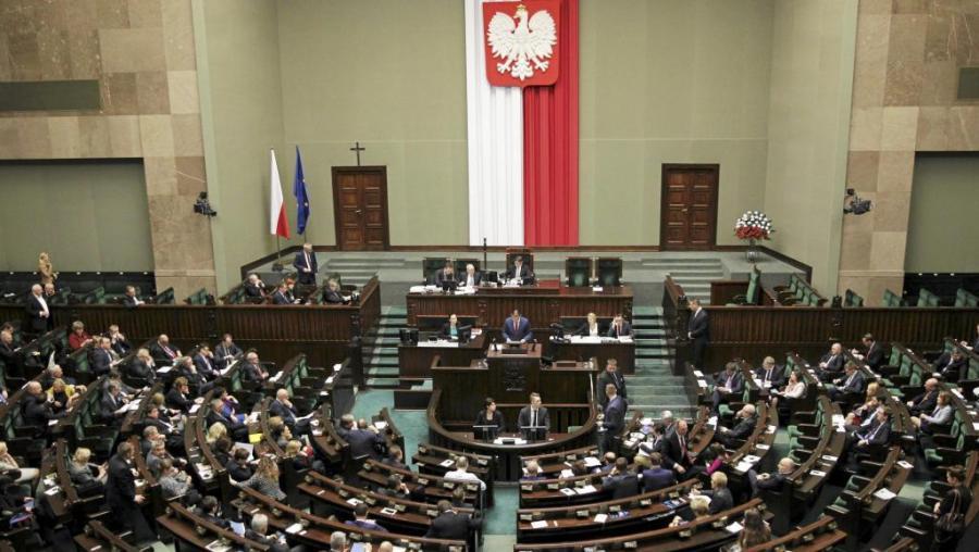 pologne le Tribunal constitutionnel polonais -22T143436Z_1008863467_LR1EBCM14HEML_RTRMADP_3_POLAND-CONSTITUTION-CRISIS_0