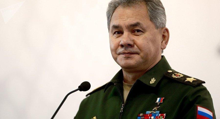 RUSSIE Sergueï Choïgou, le ministre russe de la Défense, héros de Russie et général d'armée1033607234