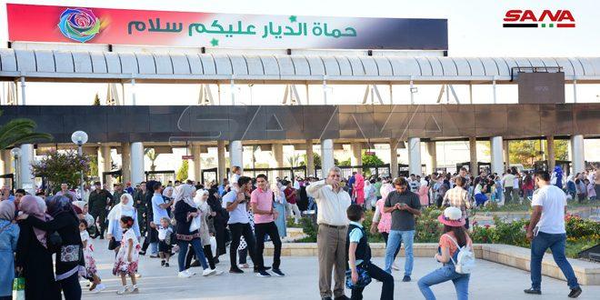 SANA La 61e édition de la Foire internationale de Damas a connu aujourd'hui dans son 3e jour un afflux considérable des visiteurs 01-7