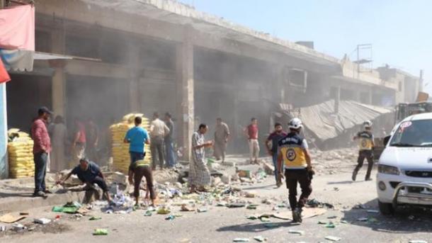 SYRIE 28.08.2019 la zone de désescalade d'Idleb 5d6621b91876e