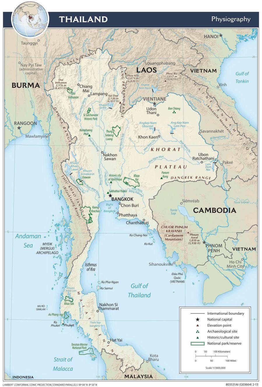 Thaïlande carte-thailande