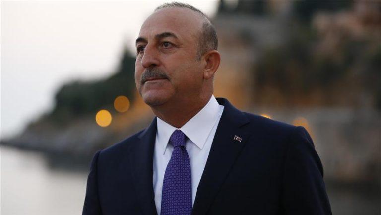 TURQUIE Le Ministre turc des Affaires étrangères, Mevlüt Cavusoglu cavusoglu-768x433