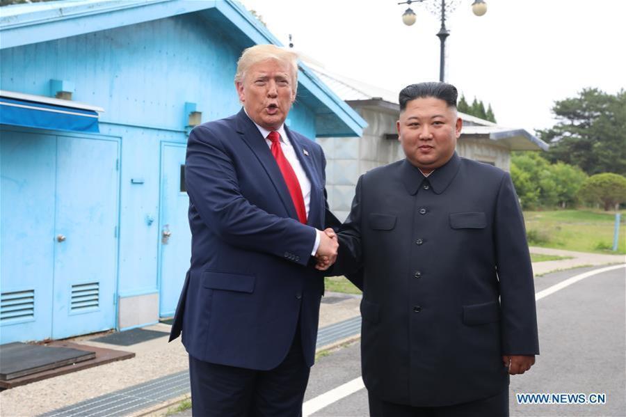 USA COREE DU NORD les dirigeants de la RPDC et des États-Unis se sont rencontrés à Panmunjom138186673_15618844830961n