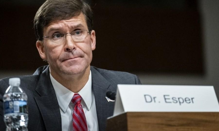 USA le ministre américain de la Défense Mark Esper 83da800df90601394d56d619ad7