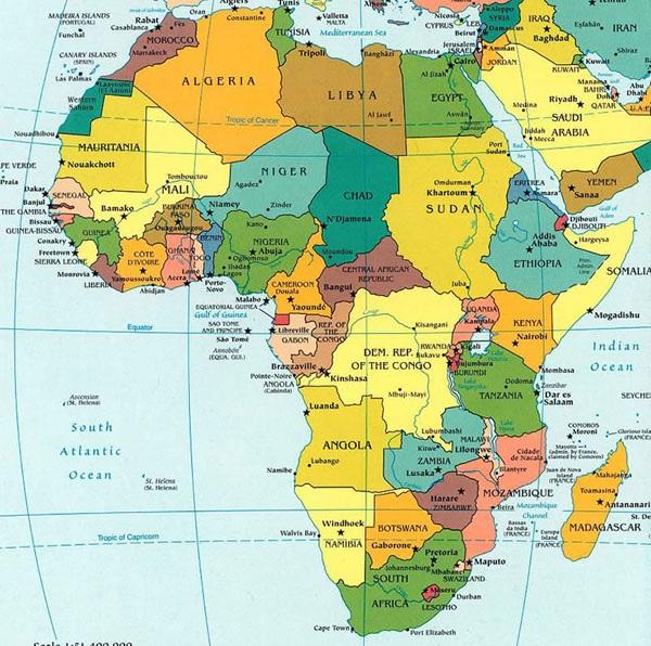 Afrique-carte