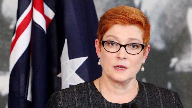 AUSTRALIE Le Ministre australien des Affaires étrangères Payne 57937145