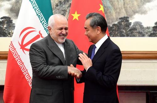 CHINE IRAN Wang Yi s'est entretenu hier à Beijing avec le Ministre iranien des Affaires étrangères ZarifW020190829374708464205
