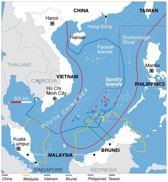 chine vietnam South_China_Sea_claims_map