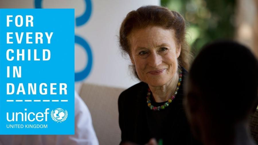 la Directrice exécutive de l'Unicef, Henrietta Fore.maxresdefault