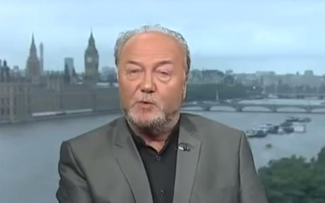 l'ancien député britannique George Galloway Untitled1-640x400