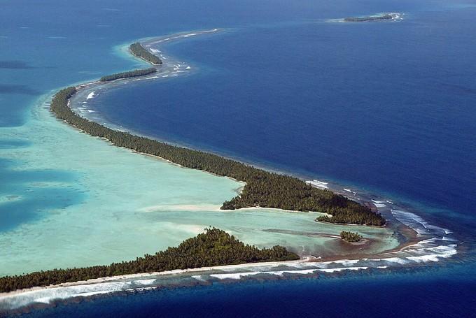 L'archipel fait 26 km², répartis en neuf îles et atolls coralliens. (Photo -Torsten BlackWood AFP) Image-1024-1024-1623302