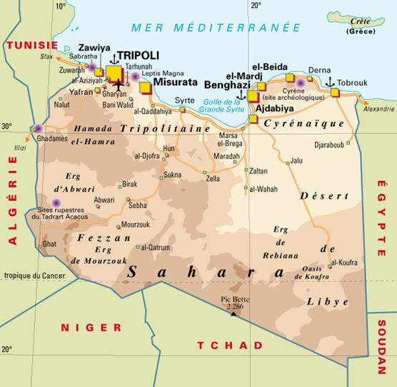 libye-carte