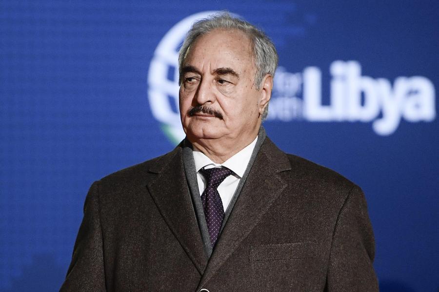 LIBYE maréchal Khalifa Haftar 000_1as6w9