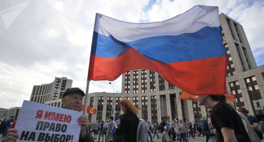 RUSSIE 2019 l'élection de la Douma de Moscou 1041783257