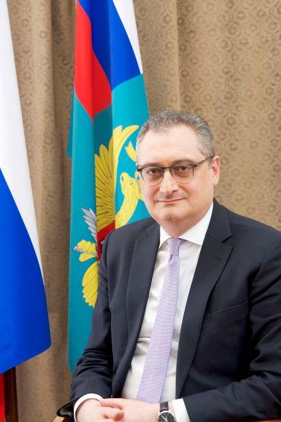 RUSSIE Vice-Ministre des Affaires étrangères Morgoulov И.В.Моргулов