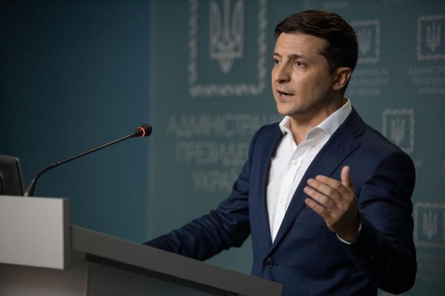 UKRAINE Volodymyr Zelensky 1561994341-4207